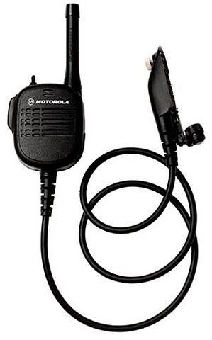 Oem Motorola Rmn5075a Uhf Public Safety Microphone With 24 Straight