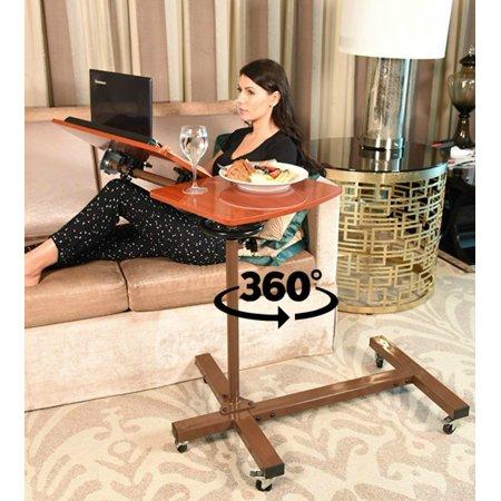Kist Best Overbed Table Adjule Tilt Over Bed With Wheels