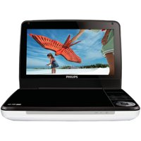 "Philips PD9000/37 9"" LCD 5-hour Playback Portable DVD Player"