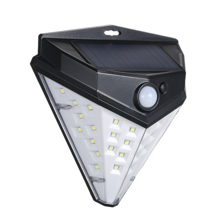 32 LEDs Diamond Shape Solar Lamp PIR Motion Sensor Wall Lights Waterproof IP44 Sensing Mode Mounting Night Secury Lighting for Garden Driveway - image 7 of 7