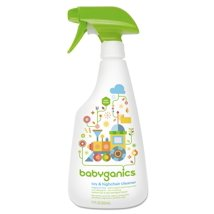 Multi-Surface Cleaner: Babyganics Toy & Highchair