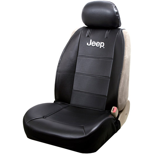 Plasticolor Jeep Sideless Seat Cover, Black