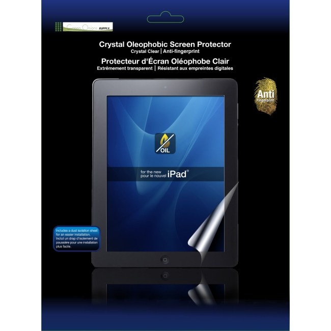 GREEN ONIONS SUPPLY RT-SPIPAD307 OLEOPHOBIC SCREEN PROTECTOR FOR