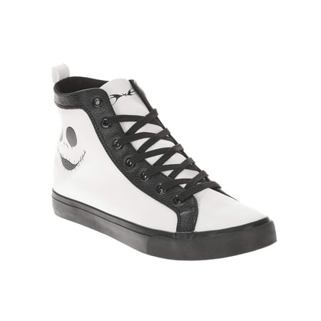 Men's Nightmare Before Christmas PU High Top Sneaker](50s Shoes Mens)