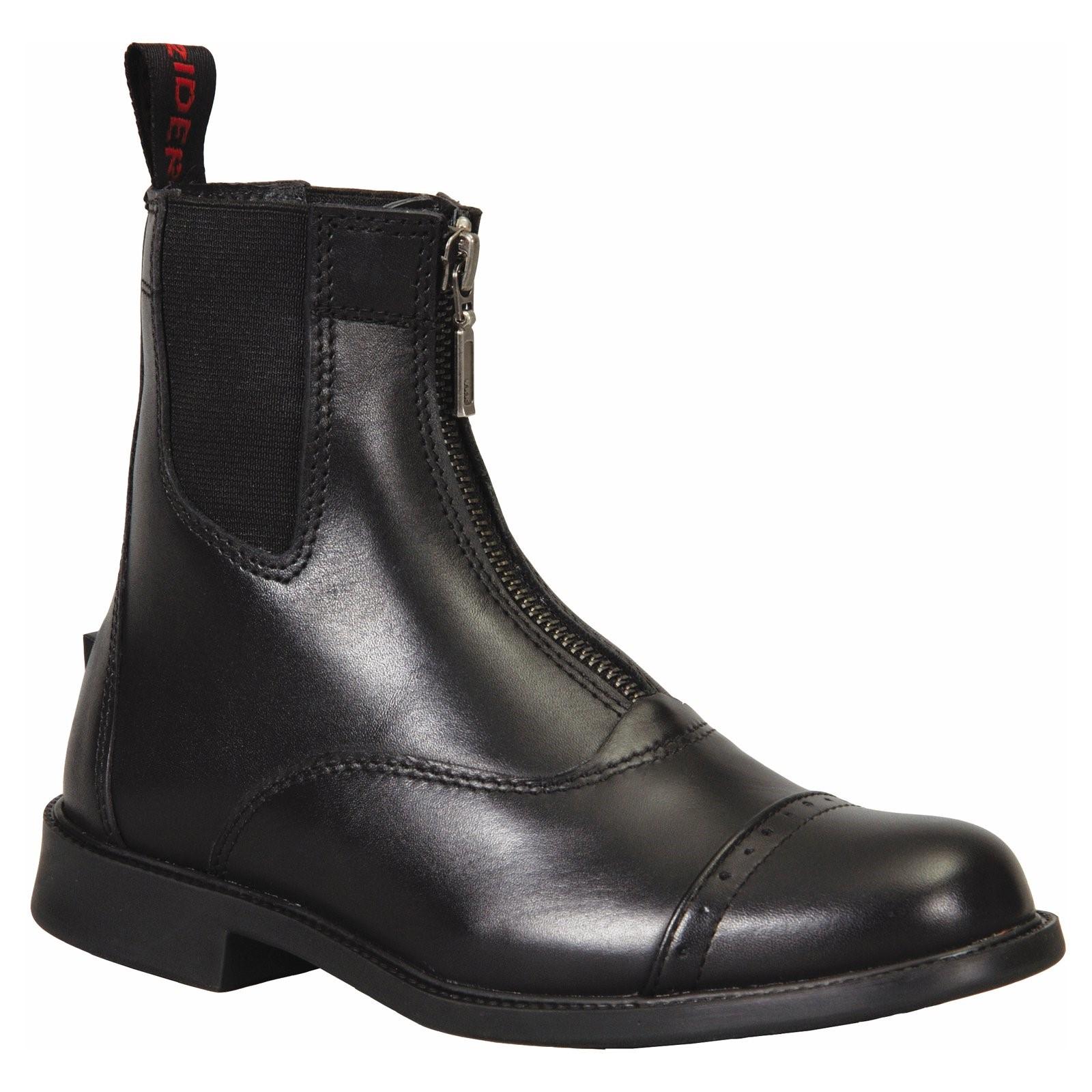 TuffRider Ladies Baroque Front Zip Paddock Boots