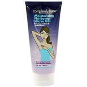 Completely Bare Moisturizing No-Bump Shave Gel 6 oz (Pack of 2)