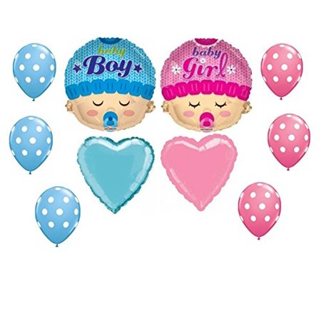 Gender Reveal Baby Shower Balloon Decoration Kit (Gender Reveal Decorations)