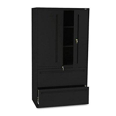 hon 785lsp 700 series 36 by 19-1/4-inch lateral file with storage cabinet, (Hon 10500 Series Lateral File)