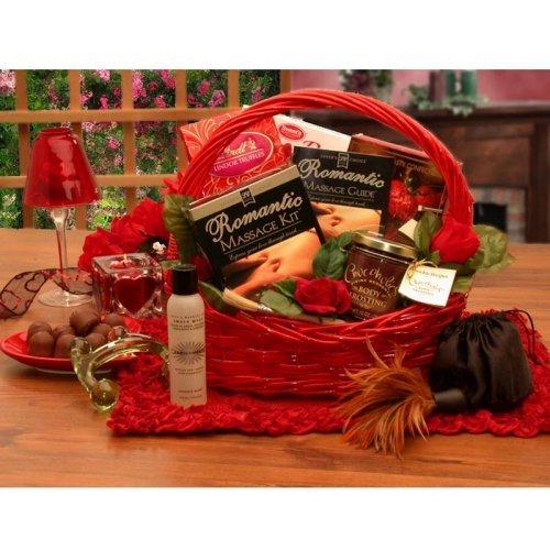 Romantic Massage Romance Gift Basket