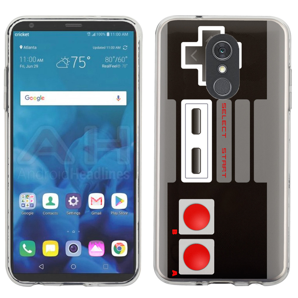 For LG Stylo 4 Case, OneToughShield ® Scratch-Resistant TPU Protective Slim-Fit Phone Case - Game Controller