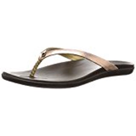 Java Ho'opio Women's Copper Olukai Sandal Leather Dark xHYPqqwzU