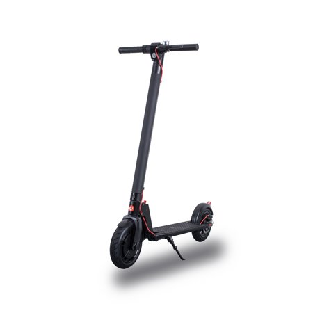 "GOTRAX RIVAL Commuting Electric Scooter with Handbrake - 8.5"" Air Filled Tires - 15.5MPH & up to 12mile Range"