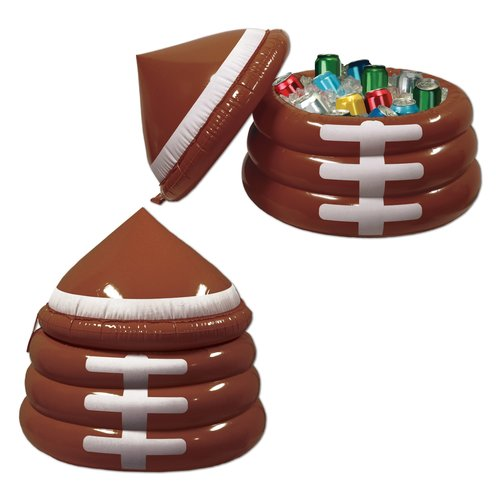 Genial Inflatable Football Cooler