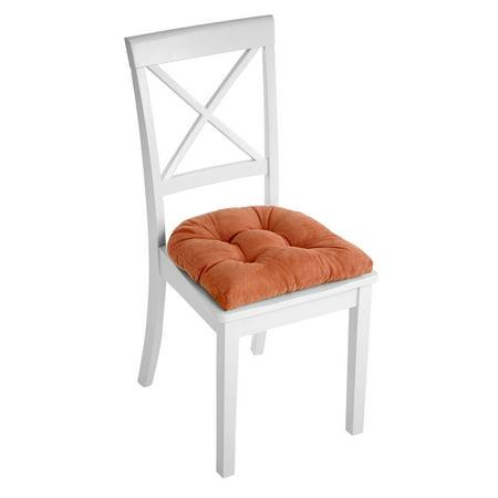 Klear Vu Gripper Non-Slip 17 x 17 Twillo Tufted Universal Dining Chair Cushion ()