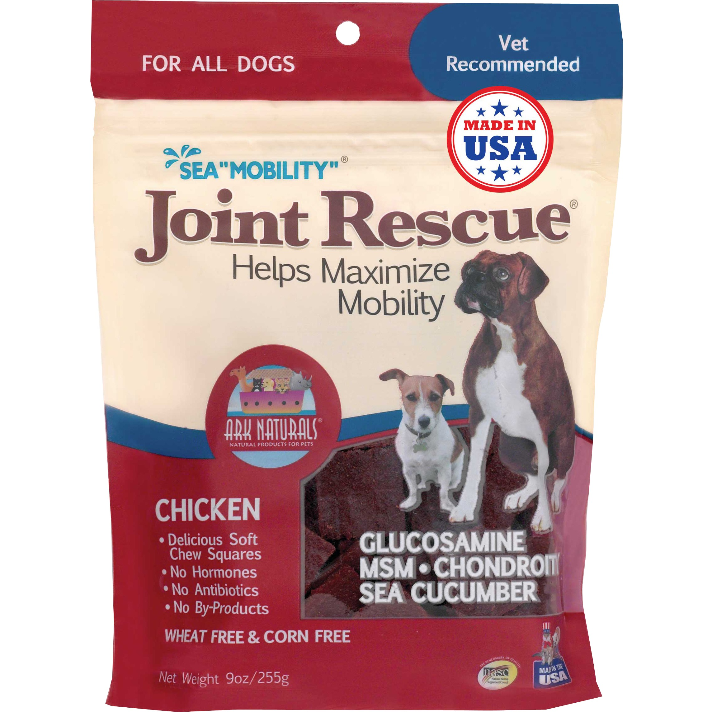 Ark Naturals Sea Mobility Joint Rescue Dog Treat