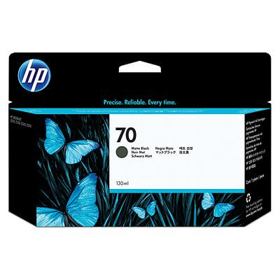 HP 70 130-ml Matte Black DesignJet Ink (70 Matte Black Cartridge)