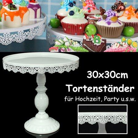 Vintage Round Cake Cupcake Stand Dessert Holder Fruit Display For