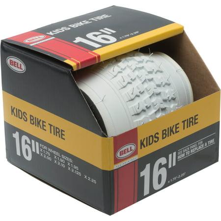 White Bike Tires - Bell Sports Standard Kids Bike Tire, 16