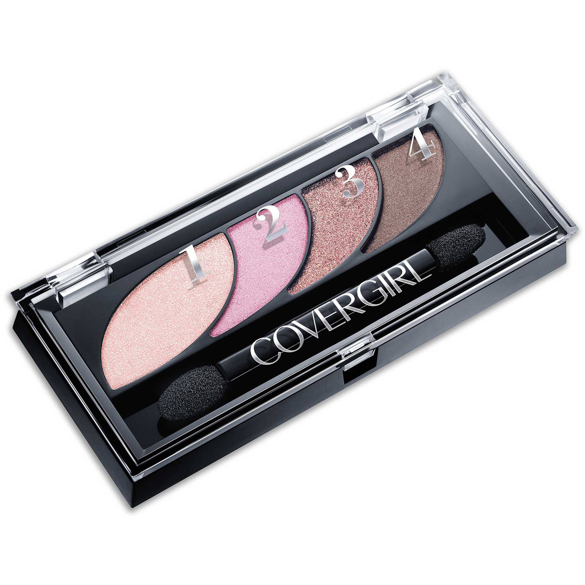 COVERGIRL Eye Shadow Quads, Blooming Blushes, 0.06 oz