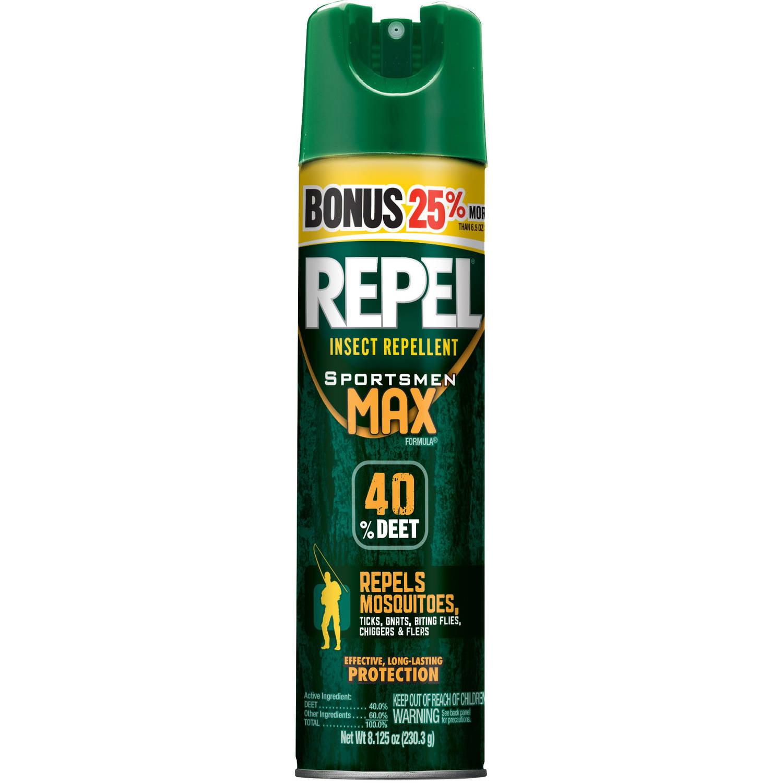 Repel Sportsmen Max Formula Insect Repellent Bonus, 8.125 Oz