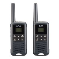 onn. 16 Mile 22 Channel Walkie Talkie, 2 Pack