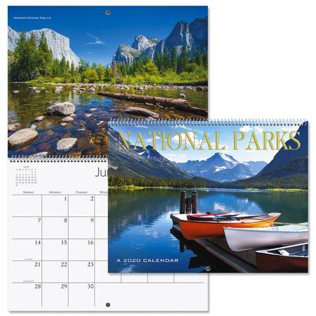 2020 National Parks Wall Calendar- 12