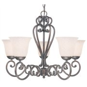 Cape Cod 5-Light Chandelier in Oil Rubbed Bronze Finish