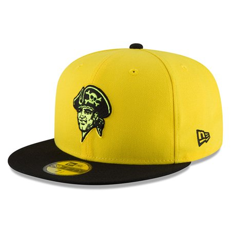 Pittsburgh Pirates New Era Youth 2018 Players  Weekend On-Field 59FIFTY  Fitted Hat - Yellow Black - Walmart.com 23943af7ad7