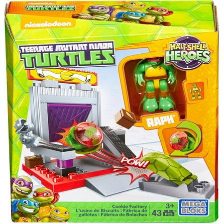 Mega Bloks Teenage Mutant Ninja Turtles Cookie Factory