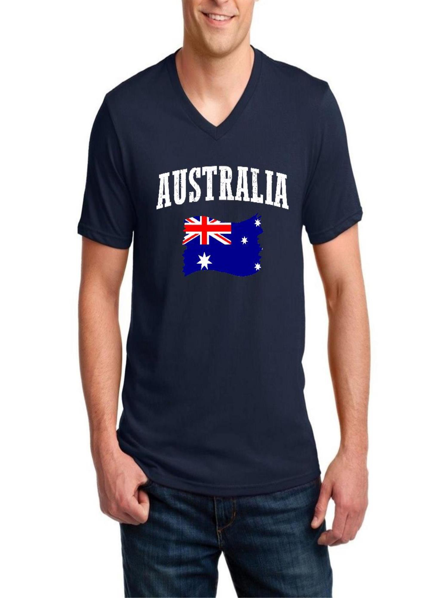 FITTED T-SHIRT tee funny birthday Australian Drinking Team Party Sports Rings