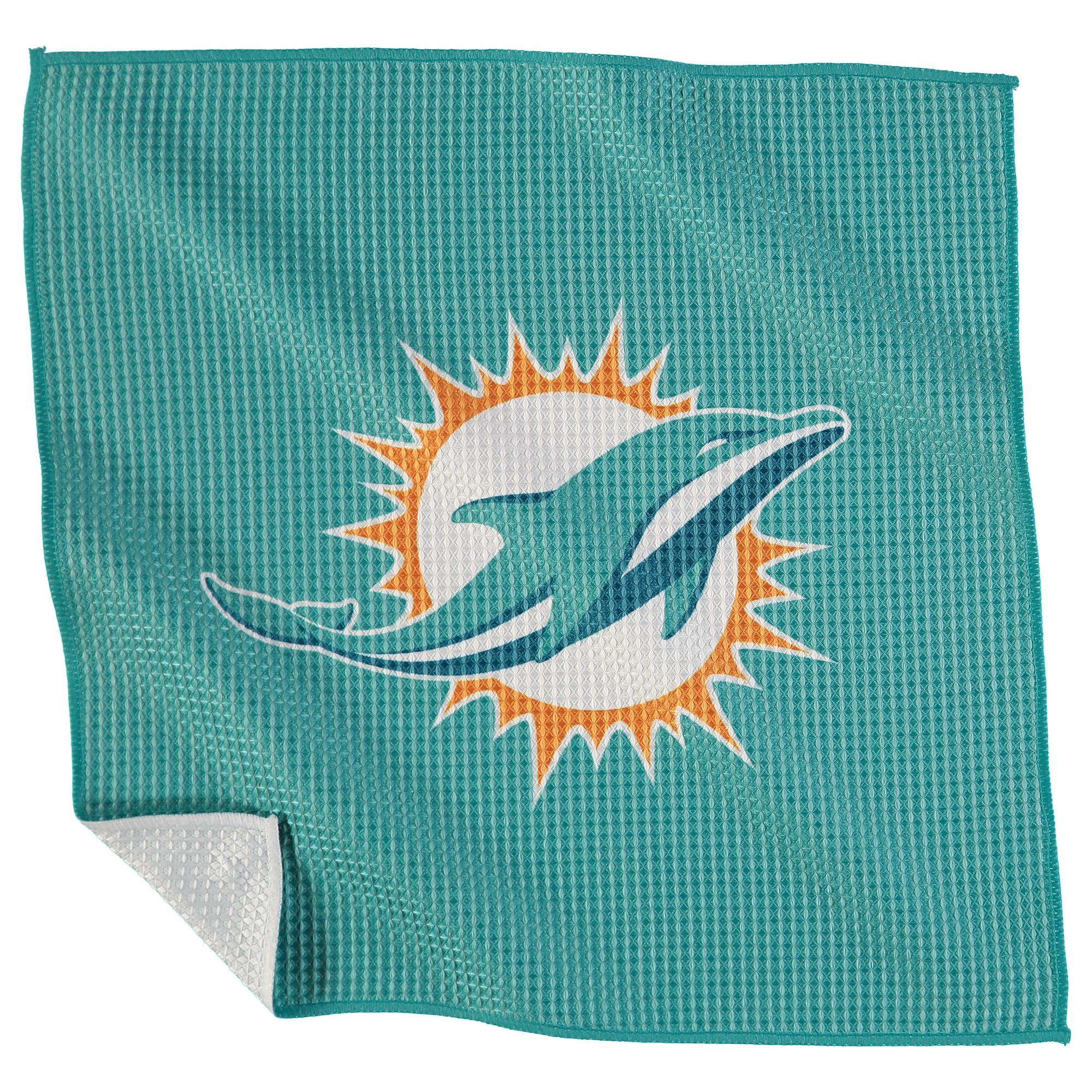 "Miami Dolphins 16"" x 16"" Microfiber Towel - No Size"
