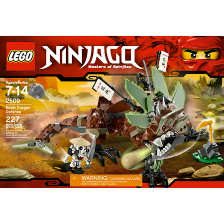 lego ninjago earth dragon defense