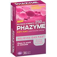 3 Pack - Phazyme Maximum Strength Softgels, 36 Each