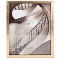 8x10 Chloe Contemporary Gold Picture Frame