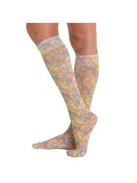 1da8ddaf13c2f Product Image Womens Trouser Socks Knee High Abstract Print Sock Accessory  Soxs