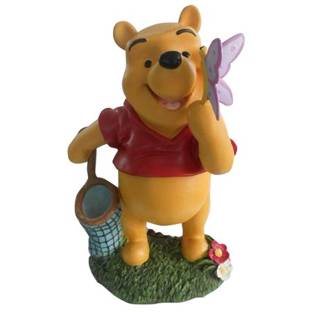 woods international disney winnie the pooh with butterfly friend statue. Black Bedroom Furniture Sets. Home Design Ideas