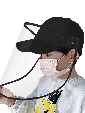 Face Shield for Men Women Elvissmart Safety Sheild Full Protection Cap Adjustable Transparent Pack of 2