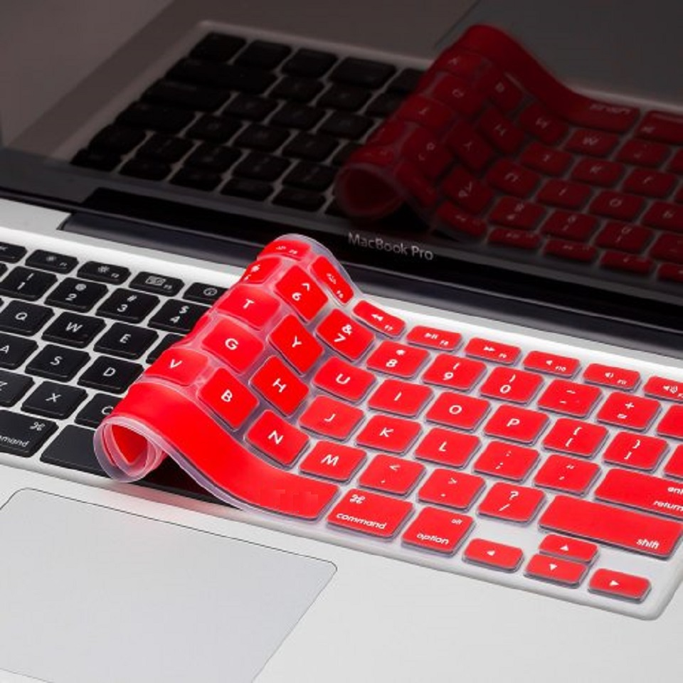 """Silicone Skin for MacBook - 11"""" - Red"""