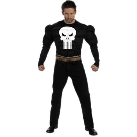 The Punisher Costumes (Adult Punisher Costume)