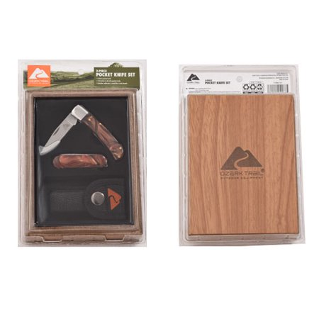 Ozark Trail Knife Set, 2 Count