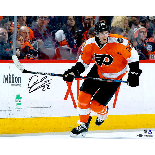 "Dale Weise Philadelphia Flyers Autographed 16"" x 20"" Orange Jersey Skating Photograph No Size by Fanatics Authentic"