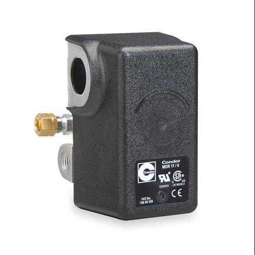 CONDOR USA, INC 11NCXE Pressure Switch, DPST, 105/135 psi