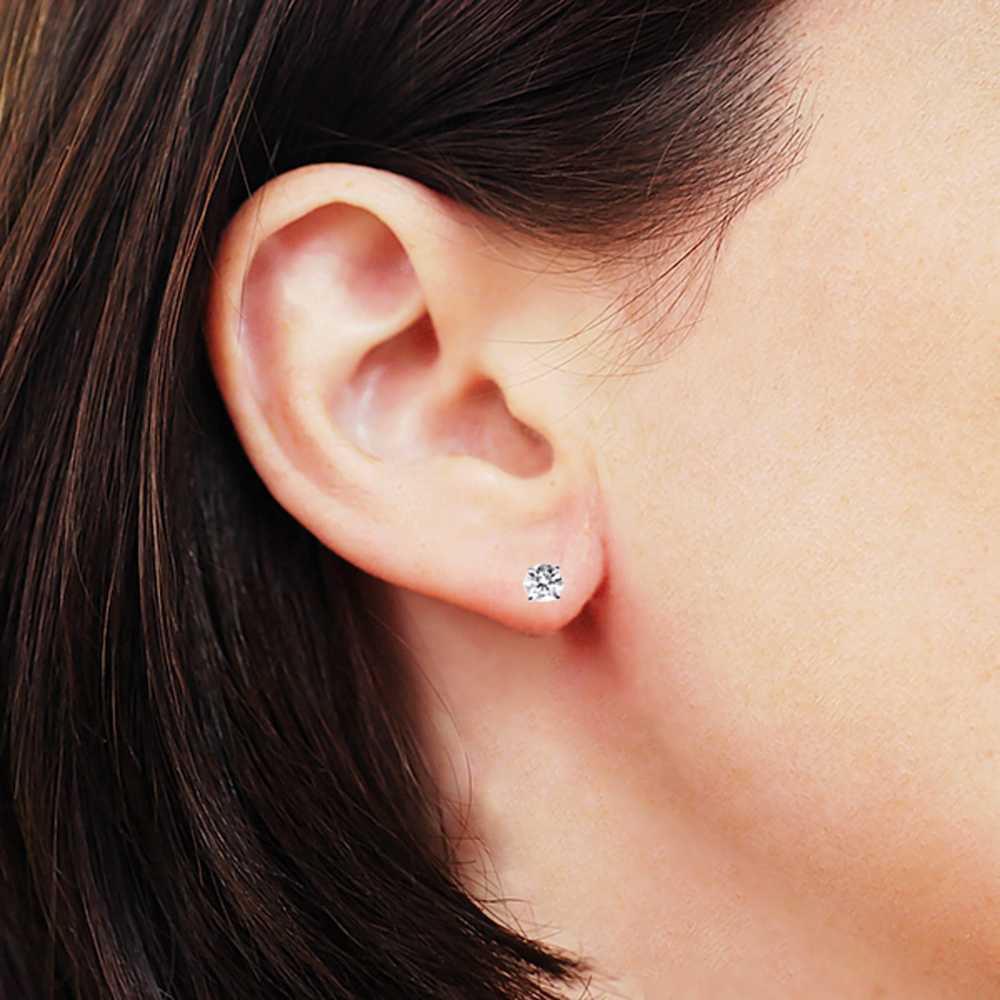 2f0083f1da8ef IGI Certified 1/3 cttw (K-L I1-I2) 14K White Gold Diamond Stud Earrings