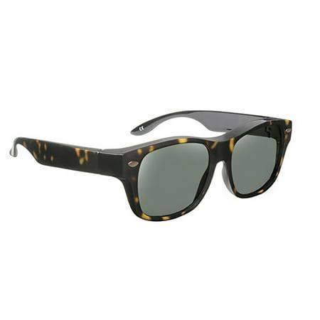 Solar Shield Unisex Tort Polarized SolarShield Sunglasses (Tort Sunglasses)
