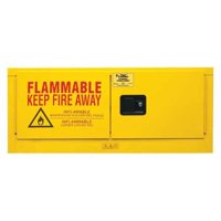 CONDOR 45AE84 Flammable Liquid Safety Cabinet, 18-1/8in