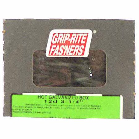 """Prime Source 5-lb Hot Dipped Galvanized Smooth Shank Box Nail, 2-1/2"""""""