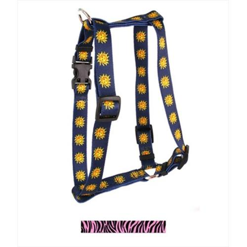 Yellow Dog Design Zebra Roman Harness - Large