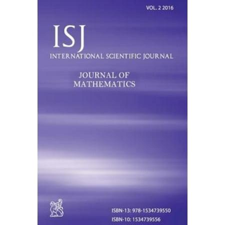 International Scientific Journal   Journal Of Mathematics Volume 2