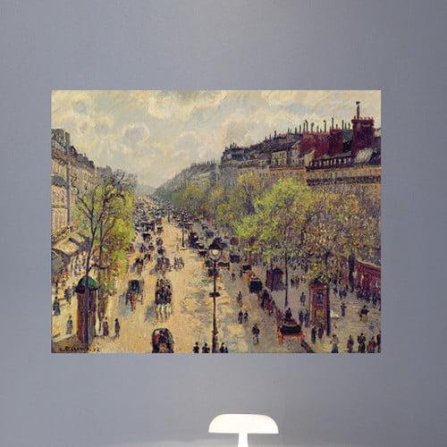 Wallhogs Pissarro Boulevard Montmartre (1897) Poster Wall Mural