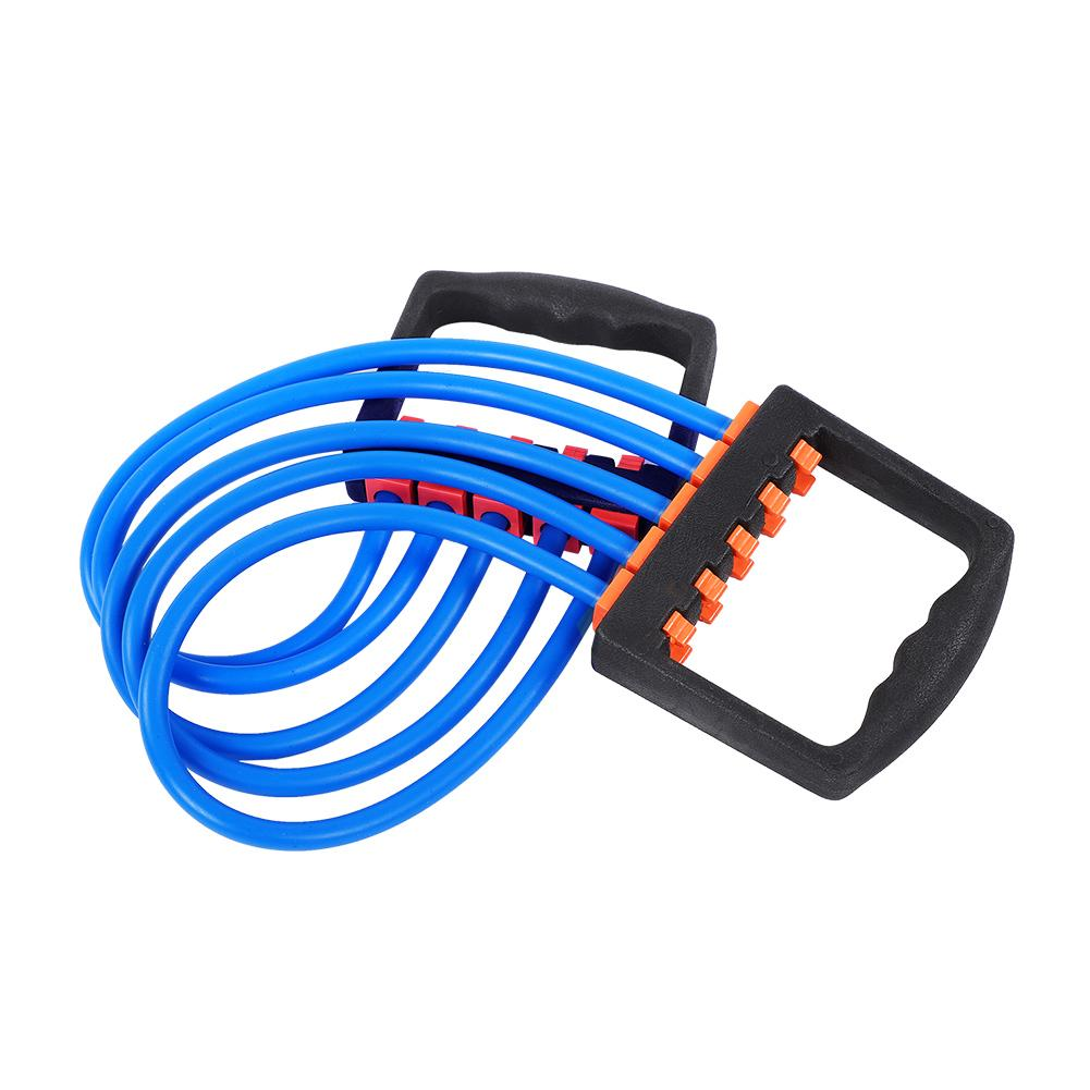 Chest Expander TPE Tensile  Strength Expander 5 Rubber High Resilience Sport
